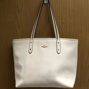 Coach small parent leather tote - OS